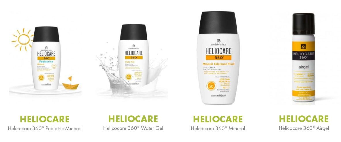 heliocare 360 range